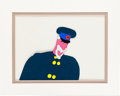 "Animation Art:Production Cel, Beatles Yellow Submarine ""Old Captain Fred"" AnimationProduction Cel Original Art (United Artists/King Features, 1..."