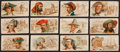 "Non-Sport Cards:Sets, 1888 N19 Allen & Ginter ""Pirates of the Spanish Main"" PartialSet (24/50). ..."