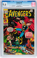 Bronze Age (1970-1979):Superhero, The Avengers #84 (Marvel, 1971) CGC NM+ 9.6 Off-white to whitepages....