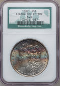 Morgan Dollars, 1887 S $1 MS64 ★ NGC. Ex: Binion Collection. NGC Census:(76620/29400). PCGS Population (5523...