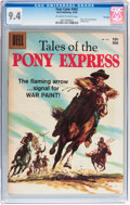 Silver Age (1956-1969):Western, Four Color #942 Tales of the Pony Express - File Copy (Dell, 1958)CGC NM 9.4 Off-white to white pages....