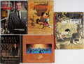 Books:Art & Architecture, [Walt Disney]. Group of Five Books, One Signed. Various publishers. Work in Progress is signed by Eisner. Publis... (Total: 5 Items)