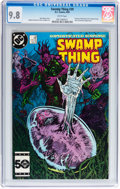 Modern Age (1980-Present):Horror, Saga of the Swamp Thing #39 (DC, 1985) CGC NM/MT 9.8 Whitepages....
