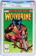 Modern Age (1980-Present):Superhero, Wolverine Limited Series #4 (Marvel, 1982) CGC NM/MT 9.8 Whitepages....