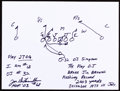Autographs:Others, Joe DeLamielleure: Football Player's Doodle for Hunger. Benefiting St Francis Food Pantries and Shelters. ...