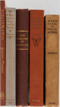 Books:Books about Books, [Books About Books]. Group of Five Related Books. Variouspublishers and editions. Publisher's binding. Good or bettercondi... (Total: 5 Items)