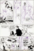 Original Comic Art:Panel Pages, Neal Adams and Bernie Wrightson Green Lantern #84 Page 22Original Art (DC, 1971)....