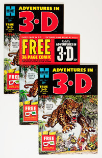Adventures in 3-D File Copy Group (Harvey, 1953).... (Total: 20 Comic Books)