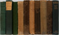 Books:Books about Books, [Books About Books]. The Penrose Annual. Group of 10 Volumes. Lund Humphries, 1903-1930. Publisher's cloth. Abou... (Total: 10 Items)