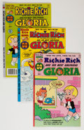 Bronze Age (1970-1979):Cartoon Character, Richie Rich and Gloria File Copies Group (Harvey, 1977-82)Condition: Average NM-.... (Total: 69 Comic Books)