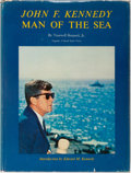 Books:Biography & Memoir, John F. Kennedy [subject]. Tazewell Shepard, Jr. INSCRIBED WITH TLSFROM AUTHOR. John F. Kennedy: Man of the Sea. ...