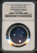 Australia, 2012< B$5 Silver Crux Southern Sky PR70 Ultra Cameo NGC. NGCCensus: (0). PCGS Population (0)....