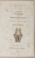 Books:Literature Pre-1900, Dr. Aikin [editor]. Select Works of the British Poets.Thomas Wardle, 1831. Contemporary leather with rubbing and sc...
