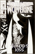 Original Comic Art:Covers, Steve Lightle Marvel Comics Presents #116 Wolverine CoverOriginal Art (Marvel, 1992)....