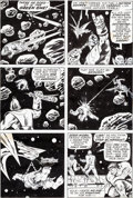 Original Comic Art:Panel Pages, Herb Trimpe and Mike Esposito The Incredible Hulk #137 Page9 Original Art (Marvel, 1971)....