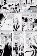 Original Comic Art:Panel Pages, Neal Adams and Dick Giordano Brave and the Bold #102 Page 16Original Art (DC, 1972)....
