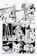 Original Comic Art:Panel Pages, Brian Bolland and Terry Austin Camelot 3000 #7 Page 20Original Art (DC, 1983)....