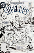 Original Comic Art:Covers, Kurt Schaffenberger The New Adventures of Superboy #26 CoverOriginal Art (DC, 1982)....