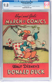 March of Comics #20 Donald Duck (K. K. Publications, Inc., 1948) CGC NM/MT 9.8 Off-white to white pages