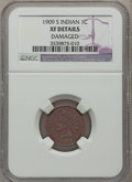 Indian Cents: , 1909-S 1C -- Damaged -- NGC Details. XF. NGC Census: (158/710).PCGS Population (321/809). Mintage: 309,000. Numismedia Wsl...