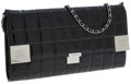 Luxury Accessories:Bags, Chanel Black Patent Leather East West Large Flap Clutch Bag withShoulder Strap . ...