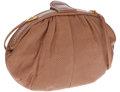 Luxury Accessories:Bags, Judith Leiber Light Brown Lizard Clutch Bag with Shoulder Strap....