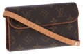 Luxury Accessories:Accessories, Louis Vuitton Classic Monogram Canvas Pouch with Belt Bag. ...