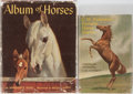 Books:Children's Books, Two Young Adult Books on Horses. Including Marguerite Henry.Album of Horses. Rand McNally & Company, 1951. ...(Total: 2 Items)