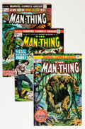 Bronze Age (1970-1979):Horror, Man-Thing Group (Marvel, 1972-81) Condition: Average VG/FN....(Total: 37 Comic Books)