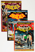 Bronze Age (1970-1979):Horror, Tomb of Dracula Group (Marvel, 1972-78) Condition: Average VF....(Total: 46 Comic Books)