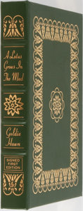 Books:Biography & Memoir, Goldie Hawn. LIMITED/SIGNED. A Lotus Grows in the Mud.Easton Press, 2005. Limited to 1640 numbered copies signe...