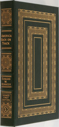 Books:Americana & American History, Edward M. Kennedy. LIMITED/SIGNED. America Back on Track.Easton Press, 2006. First edition limited to 1750 numb...