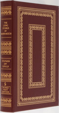 Books:Natural History Books & Prints, Stephen Jay Gould. LIMITED/SIGNED. The Lying Stones of Marrakech. Easton Press, 2000. First edition limited to 1...