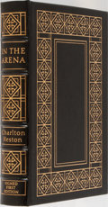 Books:Biography & Memoir, Charlton Heston. LIMITED/SIGNED. In the Arena. An Autobiography. Easton Press, 1995. First edition limited to 17...