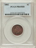 Proof Indian Cents: , 1882 1C PR65 Red and Brown PCGS. PCGS Population (75/36). NGC Census: (61/26). Mintage: 3,100. Numismedia Wsl. Price for pr...