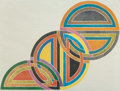 Prints:American, After FRANK STELLA (American, b. 1936). Interlocking SinjerliVariations. Offset color lithograph. 29-1/2 x 38-1/2 inche...(Total: 2 Items)