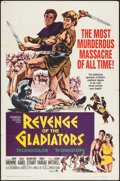 "Movie Posters:Adventure, Revenge of the Gladiators & Others Lot (Paramount, 1965). OneSheet (27"" X 41""), Lobby Card Set of 8 & Lobby Card (11"" X14""... (Total: 10 Items)"