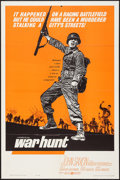 "Movie Posters:War, War Hunt (United Artists, 1962). One Sheet (27"" X 41"") and LobbyCards (2 (11"" X 14""). War.. ... (Total: 3 Item)"