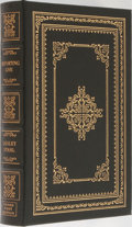 Books:Biography & Memoir, Lesley Stahl. LIMITED/SIGNED. Reporting Live. Easton Press,1999. First edition limited to 1050 numbered copies ...