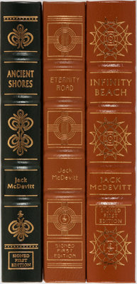 Jack McDevitt. Group of Three Signed First Edition Books Published by Easton Press. Each volume is numbered. Publishe