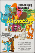 """Movie Posters:Animation, The Aristocats (Buena Vista, 1970). British Double Crown (20"""" X 30""""). Animation.. ..."""