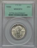 Standing Liberty Quarters: , 1930 25C MS63 Full Head PCGS. PCGS Population (515/1908). NGCCensus: (353/1434). Mintage: 5,632,000. Numismedia Wsl. Price...