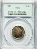 Proof Liberty Nickels: , 1901 5C PR66 PCGS. PCGS Population (96/27). NGC Census: (120/31).Mintage: 1,985. Numismedia Wsl. Price for problem free NG...