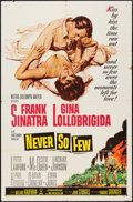 """Movie Posters:War, Never So Few (MGM, 1959). One Sheet (27"""" X 41"""") and Lobby Card Setof Eight (11"""" X 14""""). War.. ... (Total: 9 Items)"""