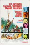 "Movie Posters:Adventure, Flight from Ashiya & Others Lot (United Artists, 1964). OneSheets (2) & International One Sheet (27"" X 41""). Adventure..... (Total: 3 Items)"