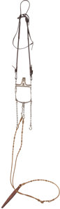 Miscellaneous, Garcia Bit on Silver Mounted Bridle....
