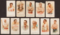 """Baseball Cards:Lots, 1880's N28 and N29 Allen & Ginter """"World's Champions""""Collection (11) With Four Baseball Players. ..."""