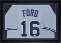 Baseball Collectibles:Uniforms, Whitey Ford Signed Jersey....