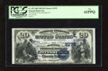 National Bank Notes:Pennsylvania, Pittsburgh, PA - $20 1882 Date Back Fr. 552 The Duquesne NB Ch. #(E)2278. Trimmed just into the design at the bottom, o...