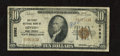National Bank Notes:West Virginia, Hinton, WV - $10 1929 Ty. 1 The First NB Ch. # 5562. W.T. Fredekingand O.O. Cooper managed this bank. Blue teller graff...